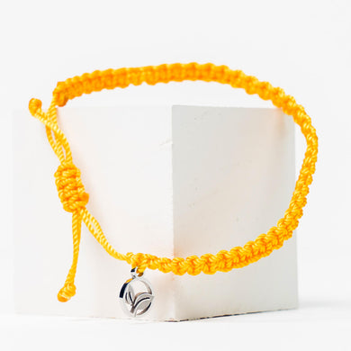 YELLOW WARBLER BRAIDED BRACELET 🌲