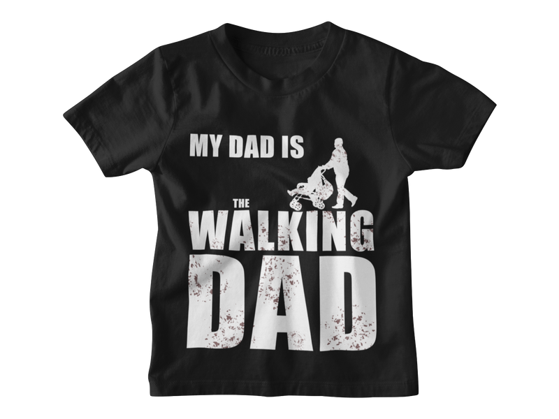 My Dad is the walking Dad T-Shirt - Paparadies