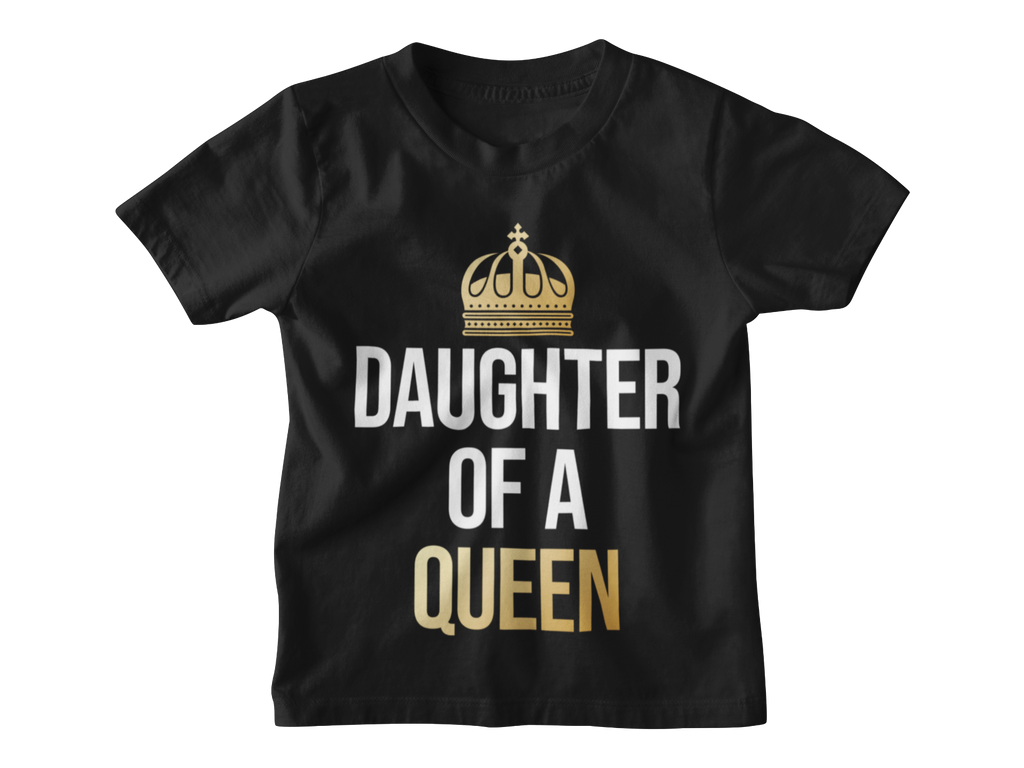 Daughter of a Queen Kinder T-Shirt - Paparadies