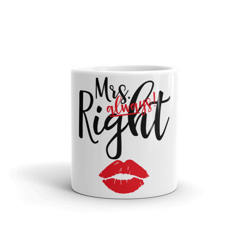 Mrs. always Right Kaffeetasse - Paparadies