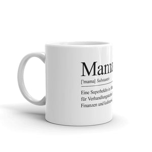 Mama Definition Kaffeetasse - Paparadies
