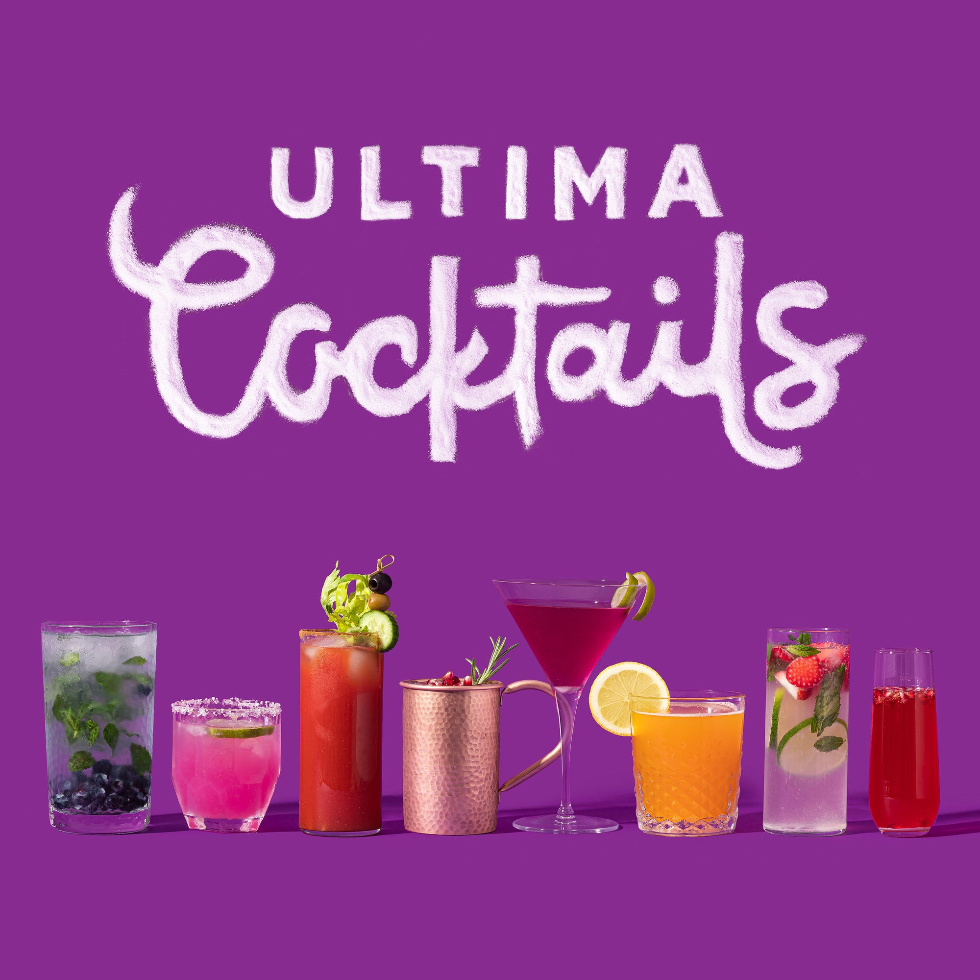Ultima Cocktails To Celebrate The Playful Side of Life