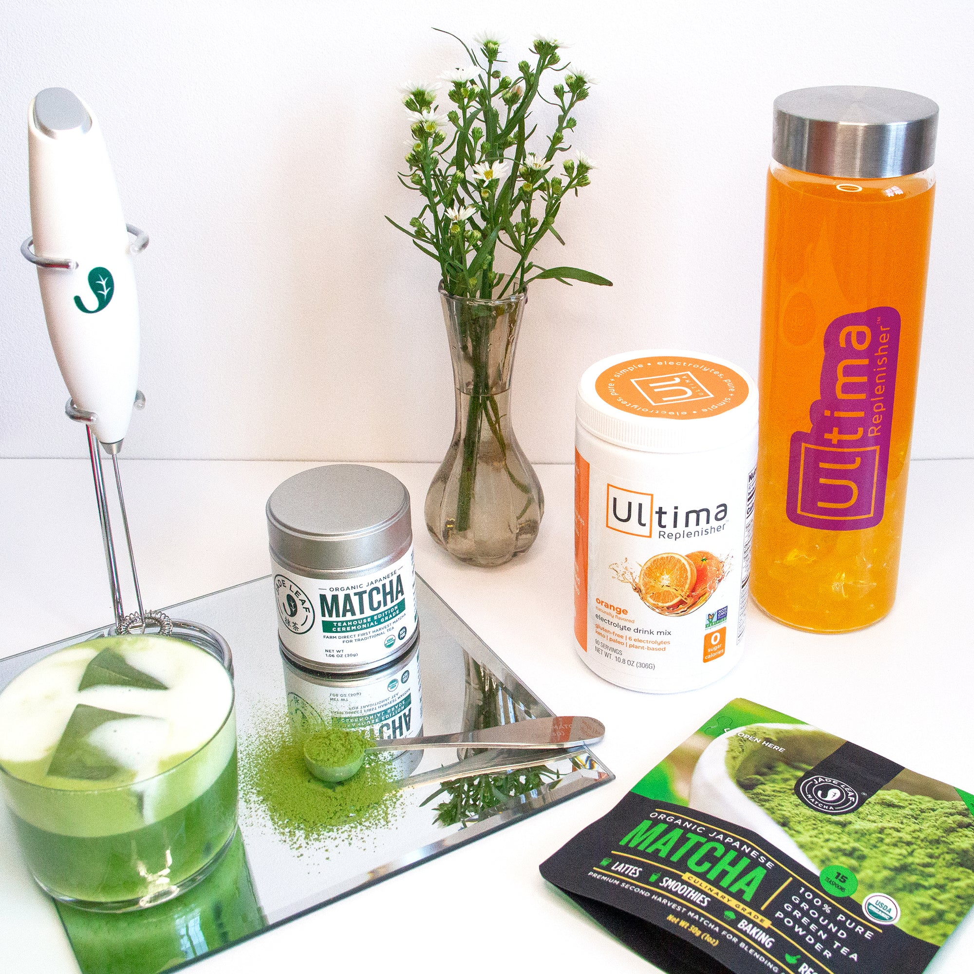 Ultima Replenisher and Jade Leaf Matcha Giveaway