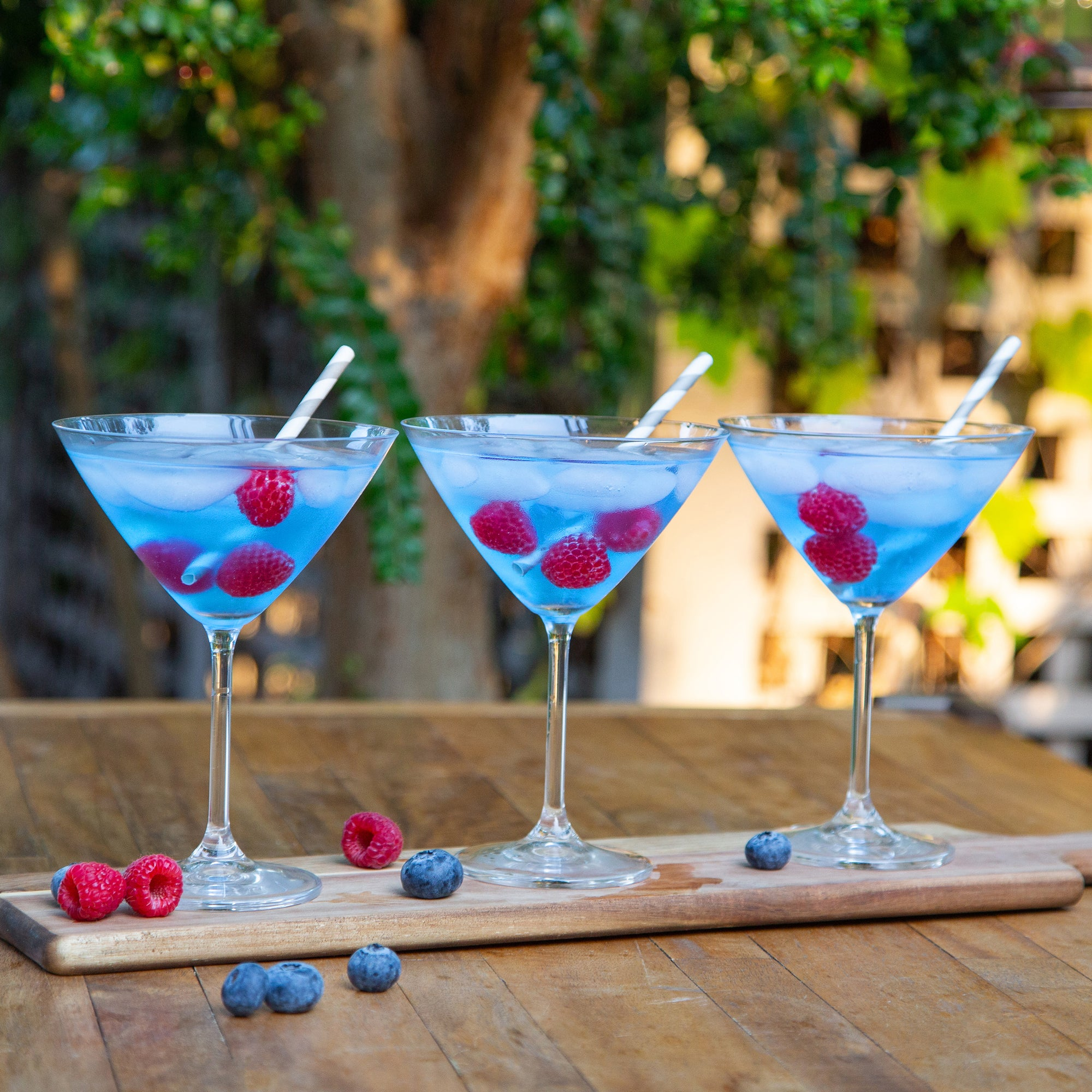 Blue Raspberry Ultima Mocktail