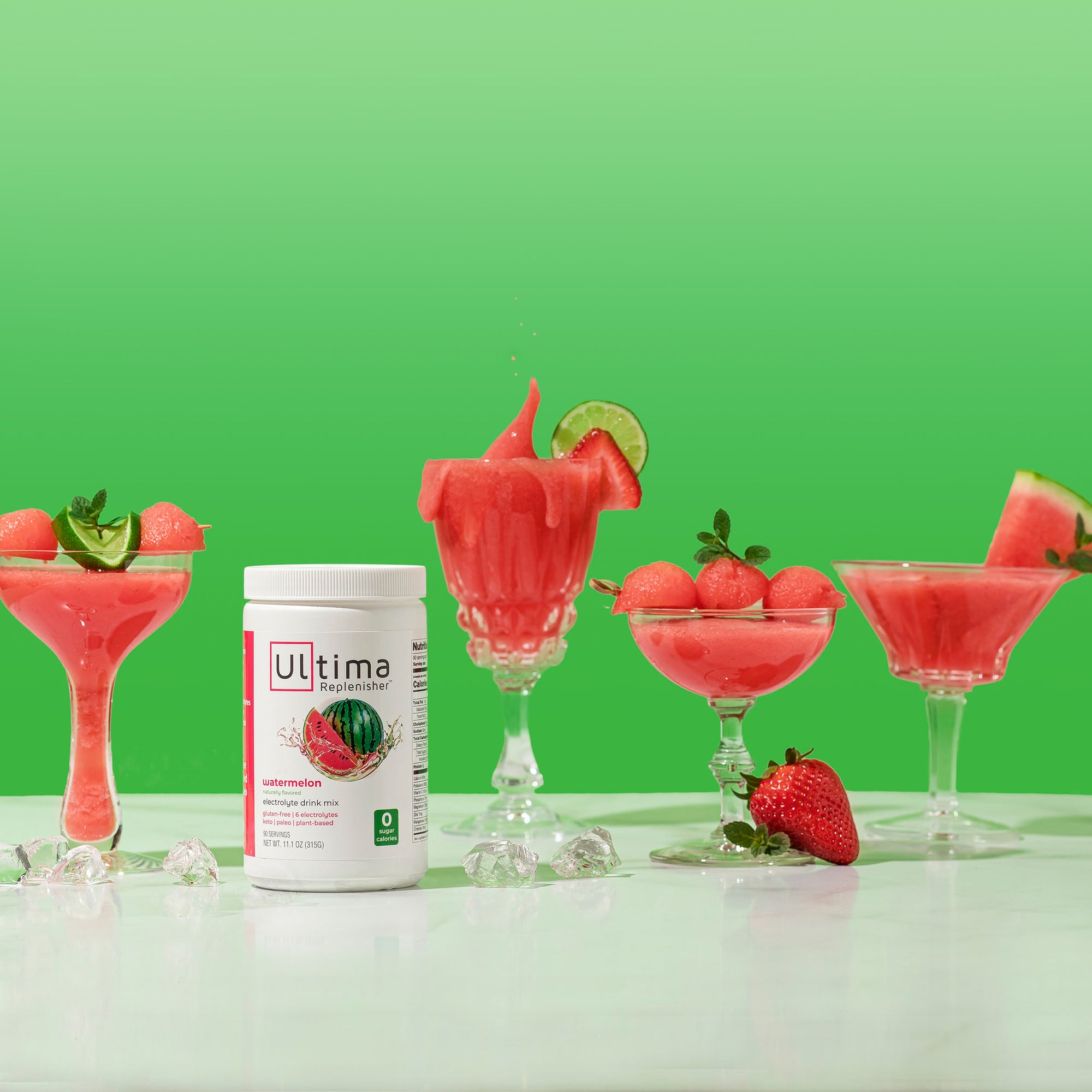 Ultima Watermelon Strawberry Slushy