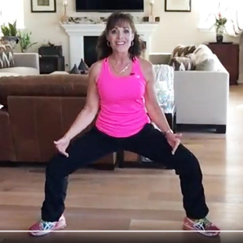 Quick Leg Workout with Aileen Sheron