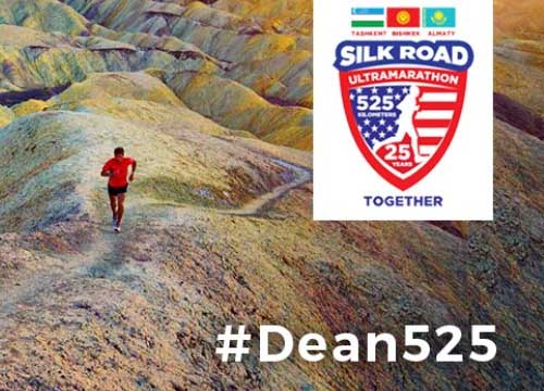 Dean Karnazes Runs Silk Road Ultra Marathon