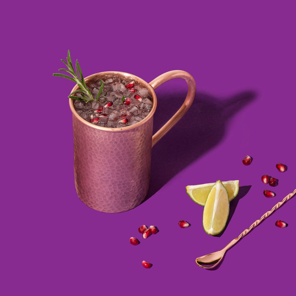 Grape Moscow Mule