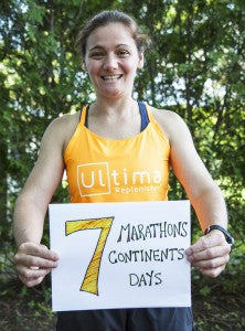 Ultima Replenisher Becca Pizzi World Marathon Challenge