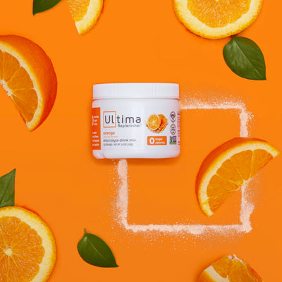 Ultima Replenisher Electrolyte Hydration Powder 30 Serving Canister Orange