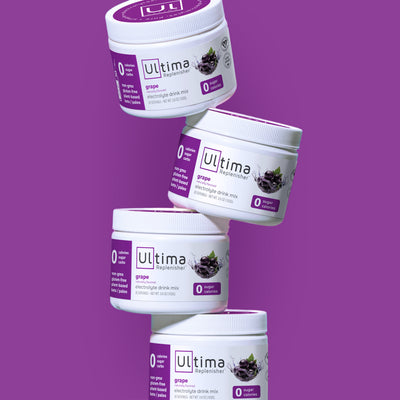 Ultima Replenisher Electrolyte Hydration Powder 30 Serving Canister Grape