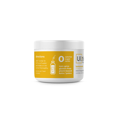 Ultima Replenisher Electrolyte Hydration 30 Serving Canister Lemonade