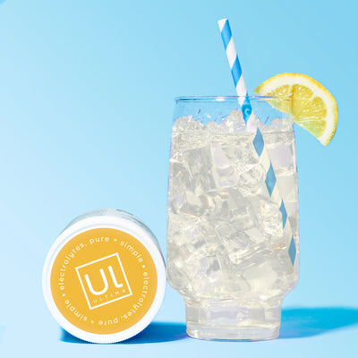 Ultima Replenisher Electrolyte Hydration Powder 90 Serving Canister Lemonade
