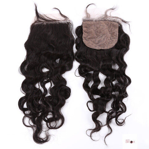 Silk Base Wavy Closure