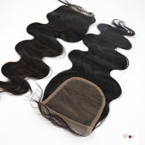 Silk Base  Body Wavy Closure