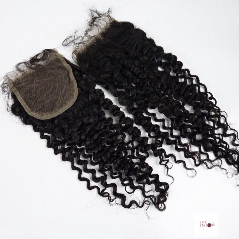 Kinky Curly Lace Closure 2