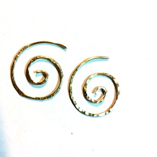 Koru (spiral) Earrings