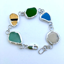 Load image into Gallery viewer, Glass and china bracelet
