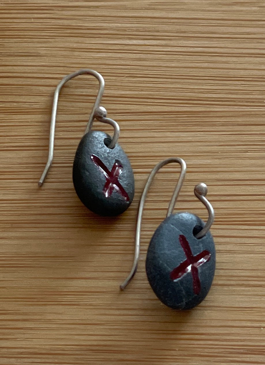 Stone Earrings