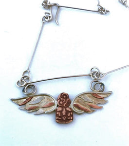 Tiki Angel necklace
