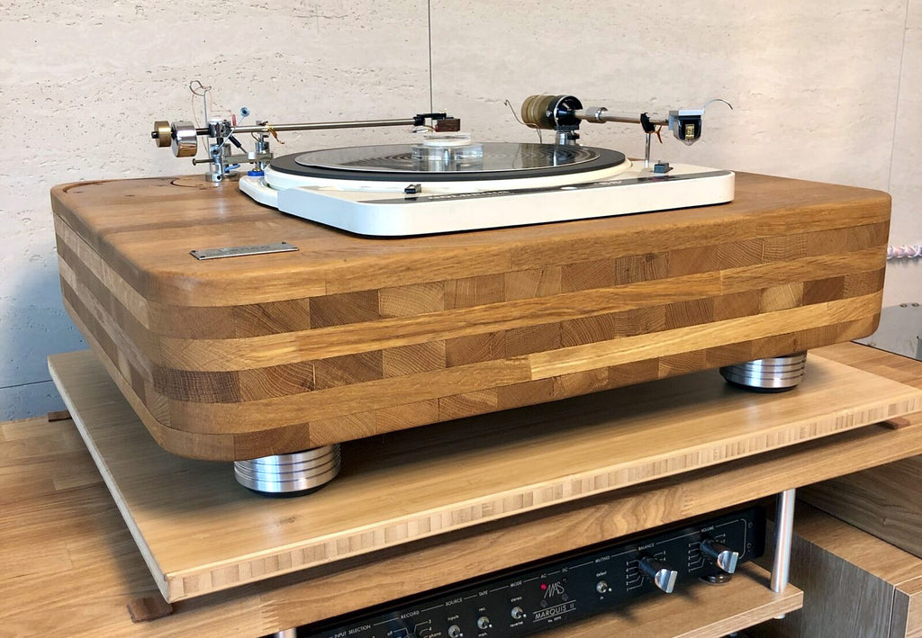 Custom Goldring Lenco 88 Turntable Restoration Isolation Feet