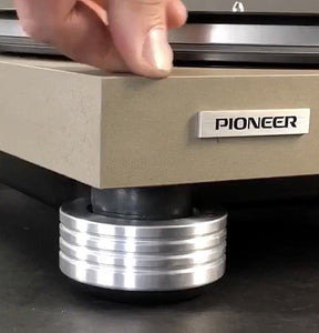 How To Replace Worn Out and Rotted Pioneer Turntable Feet