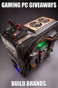Hire Mnpctech To Build Gaming PC Case Mod To Promote Your Game Release.