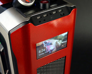 Install Touch Screen LCD PC Case Mod Guide Video by Mnpctech