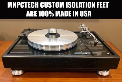Mnpctech Turntable Isolation Feet Sets