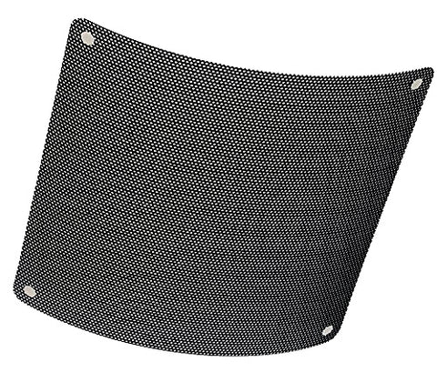 Black PVC Fan Filter Screen