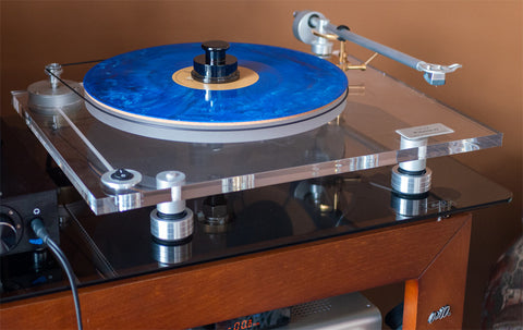 steps to replace and upgrade BLUENOTE Piccolo Turntable Sorbothane Isolation Feet (Set of Three) will also help prevent and stop Needle Skipping.