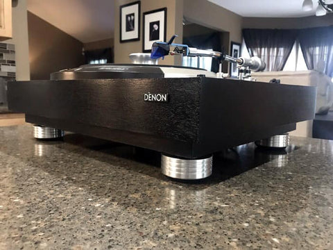 DENON DP 3000 DP 3500 DP 3700 Turntable Isolation Feet Mnpctech