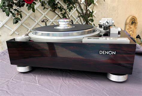 DENON DP-57L, 59L, 60L, 62L, 72L Turntable Isolation Feet