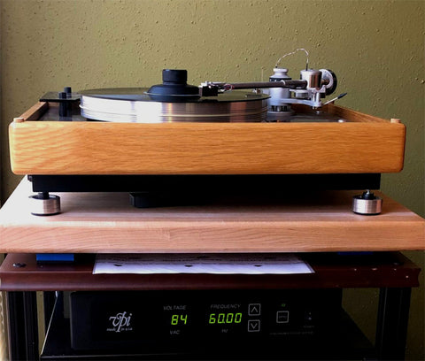 VPI HW-19 Custom Isolation Turntable Feet Upgrade Anti-Vibration Mnpctech