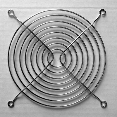 Chrome Metal PC Fan Wire Guards & Grills