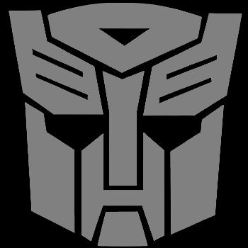 autobot transformers pc window decal applique sticker
