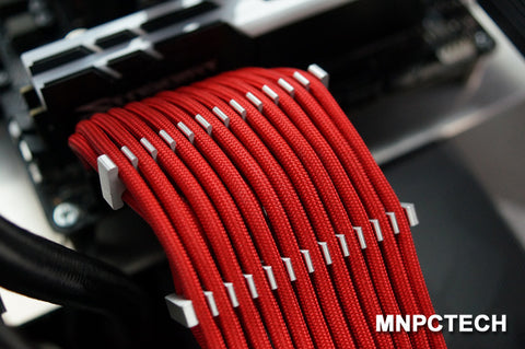 CableMods ModMesh Billet Metal Aluminum PC Cable Sleeved Combs