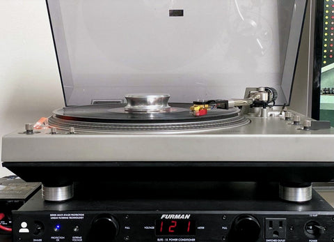 Buy The Best Technics SL-1300 mk1 vinyl phonograph record player isolation feet by Mnpctech.