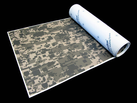 "Find 12"" 24"" 3M Army Digi-Camo / Digital Snow Camouflage Vinyl Film Wrap Sheets"