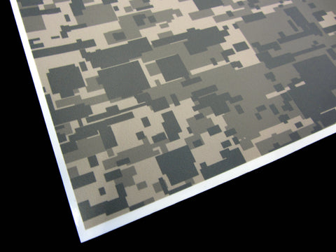 Shop and Buy 3M Army Digi-Camo / Digital Snow Camouflage Vinyl Film Wrap Sheets