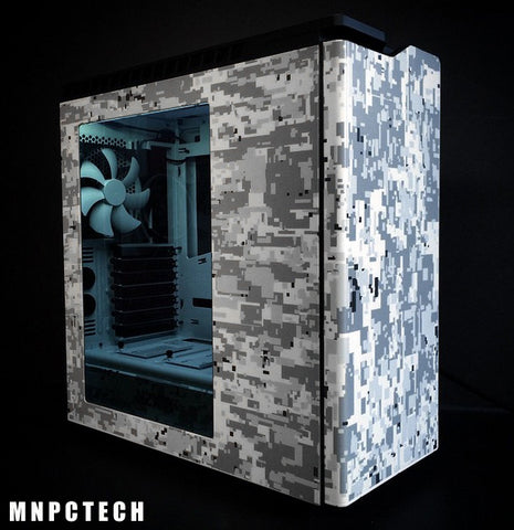 Find and Buy 3M White Winter Digi-Camo / Digital Snow Camouflage Vinyl Film Wrap Sheets