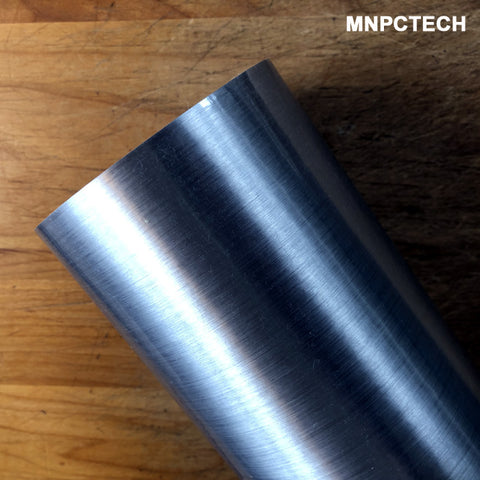Find Metal Like Look Brushed Chrome Vinyl Film Wrap or Decals