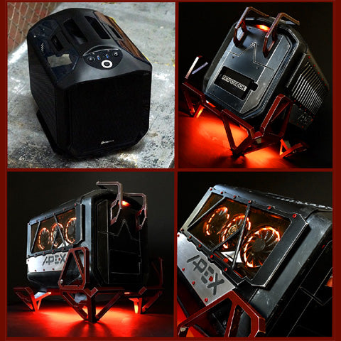 hire best gaming computer pc case modder for charity giveaway on instagram or facebook