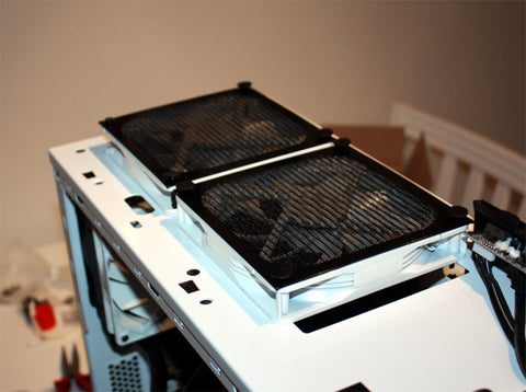Alexa, find front computer fan filter metal mesh screen for Thermaltake chassis case