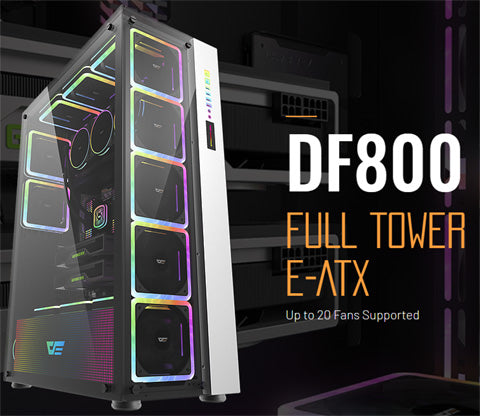 Find and buy the new darkflash DF-800 full tower for RGB gaming PC