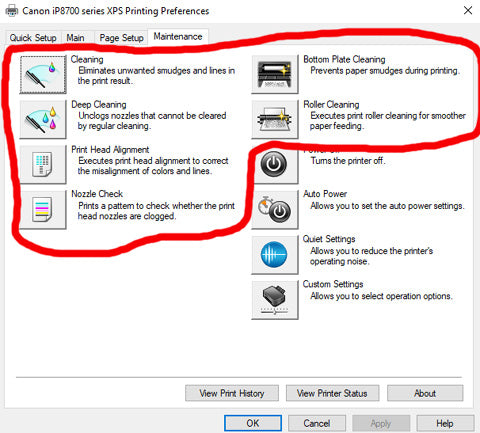 How to fix CANON PIXMA PRINTER ip8720 Abruptly Stopped Working ERROR 6A81