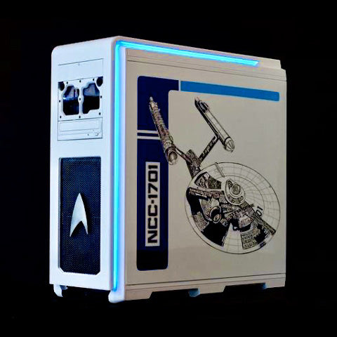 star trek gaming pc computer case mod for esports game tournament giveaway grand prize