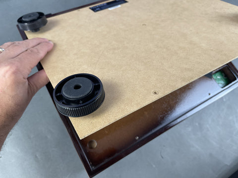 How to Fix and upgrade Fluance RT80 / RT81 turntable factory feet.