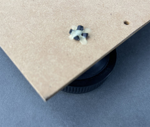 How to DIY Guide Fluance RT80 / RT81 turntable feet replace and upgrade the factory feet.