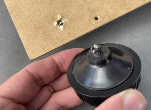 Tutorial for Removing Fluance RT80 / RT81 turntable foot to fix, replace and upgrade the factory feet.